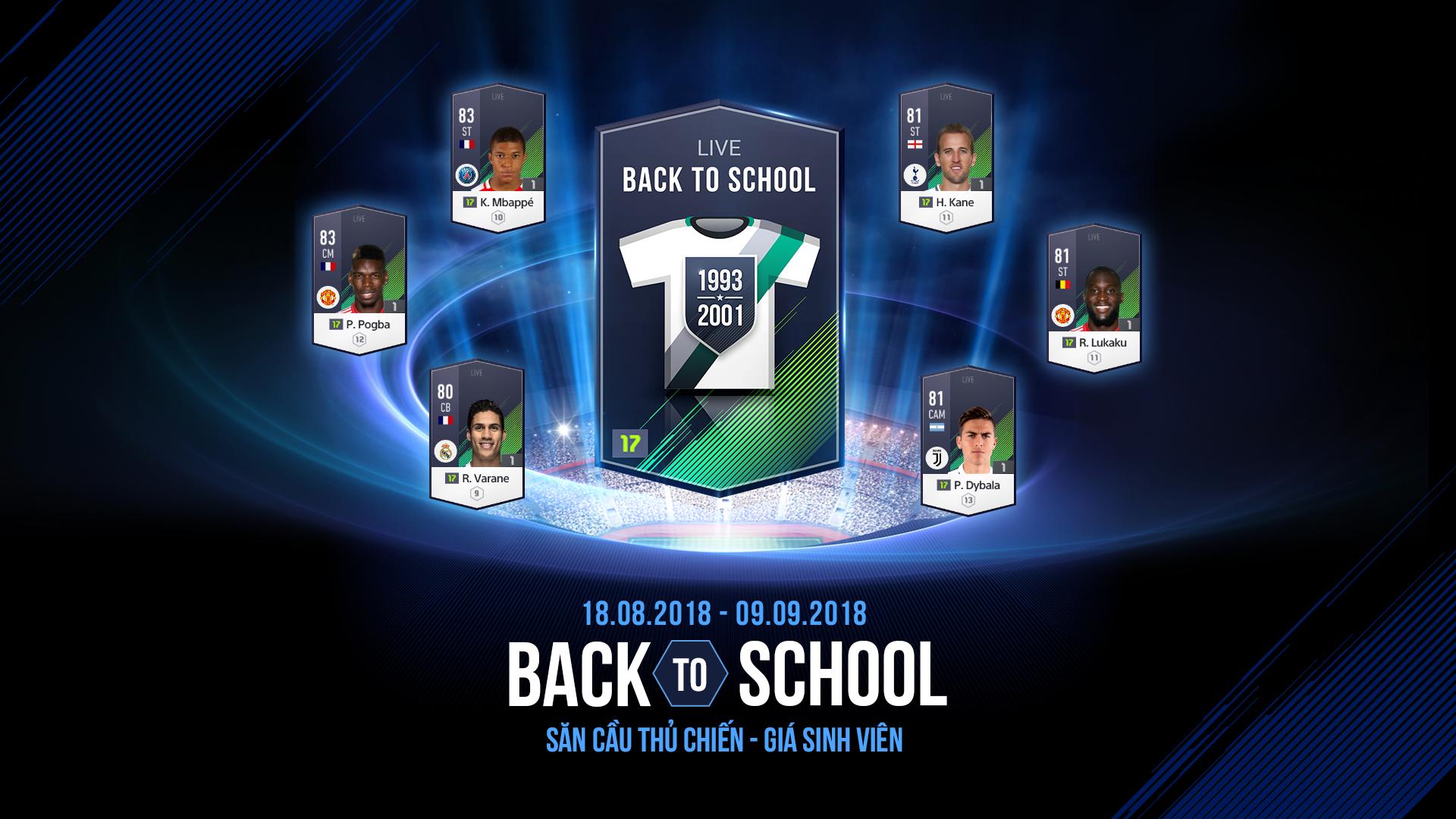 Gói Back 2 School