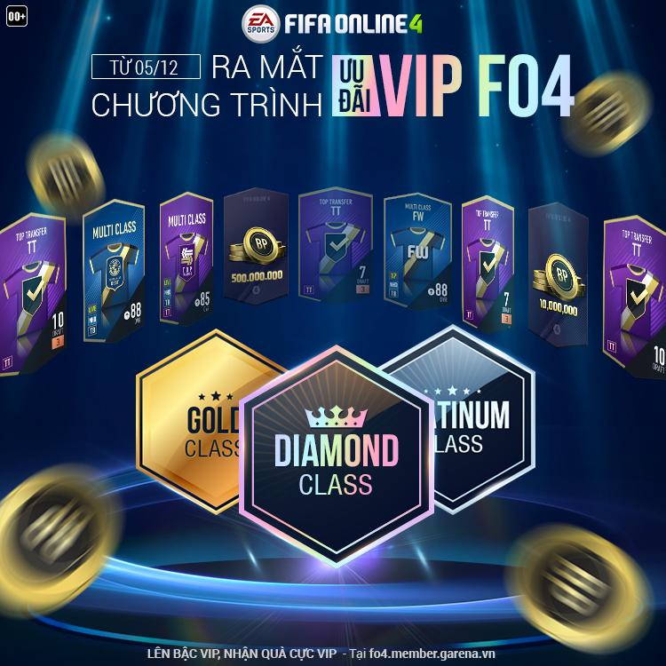 """Mời anh em vào """"team VIP"""" tại https://fo4.member.garena.vn/ để tìm hiểu cấp  bậc VIP của mình và nhận quà."""